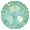 Swarovski 2038 Hot Fix Xilion Flatback Rhinestones SS10 Chrysolite Opal (1,440 Pieces)